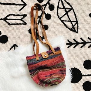 Other - Woven bag • Toddler / Girl size